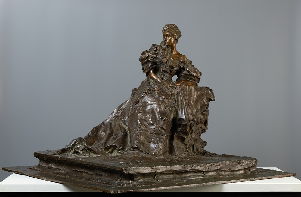 Paolo Troubetzkoy Madame Hernheimer  Tretyakov gallery