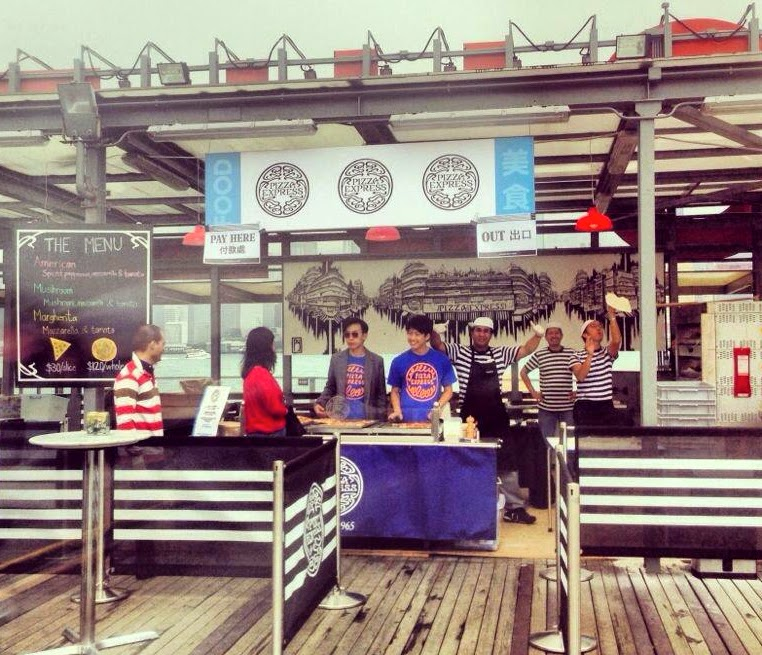 PizzaExpress at Clockenflap 2012