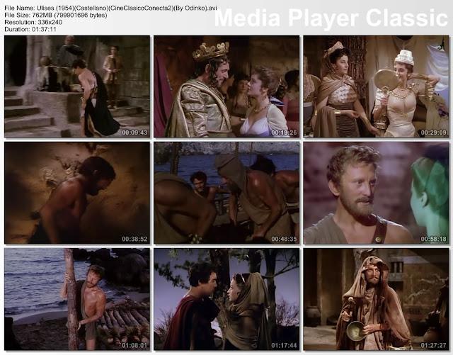 Ulises (1954) | Capturas de pantalla | Película | cine clásico