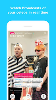 NAVER, creator of messaging app LINE, releases celebrity broadcasting app V for Android and iPhone