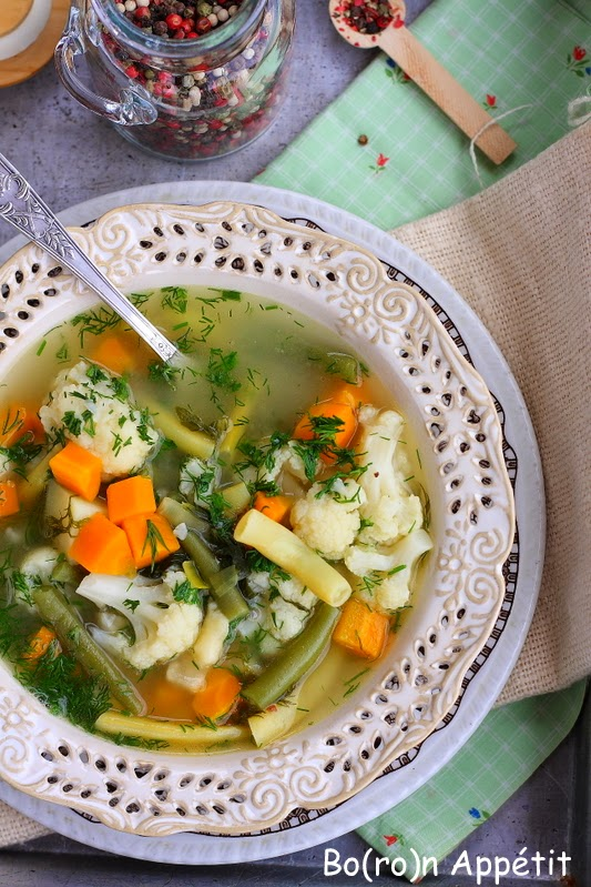 Przepis na zupę jarzynową