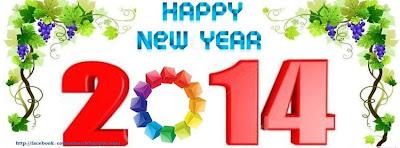 Image couverture facebook nouvelle année 2014