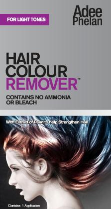 Eliminador de tinte Adee Phelan para cabellos claros
