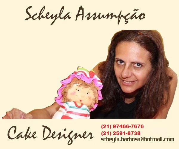 Scheyla Assumpção - Cake Designer