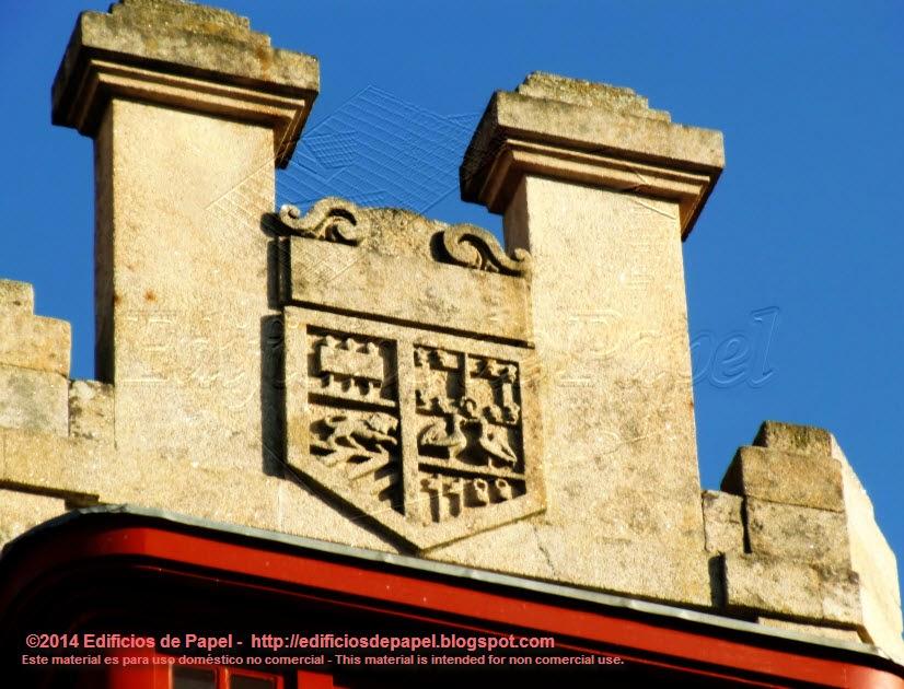 Segundo escudo en el edificio Rajoy