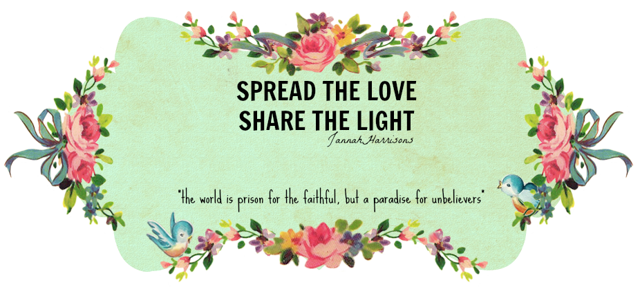 spread the love, share the light