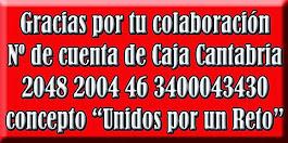 NÚMERO DE CUENTA DE CAJA CANTABRIA