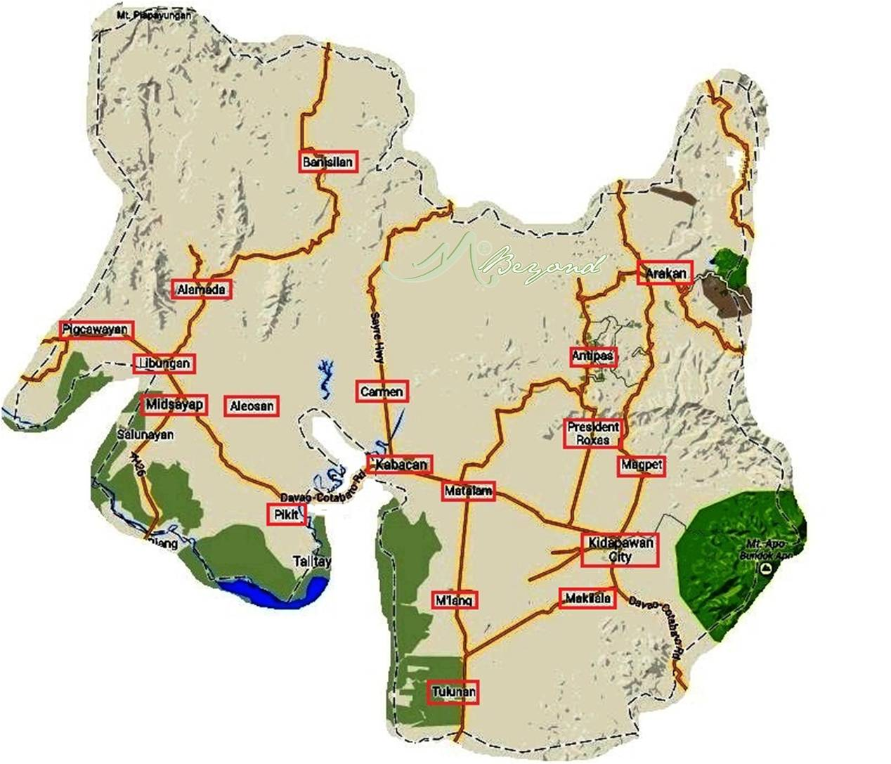north cotabato map, cotabato map, kidapawan map, map north cotabato, map cotabato, aladama map, alamada north cotabato