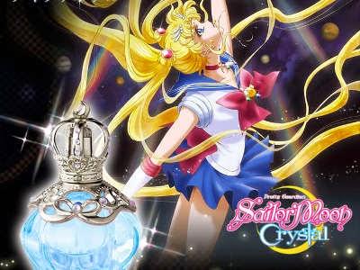 Banda lança perfume inspirado em Sailor Moon Crystal