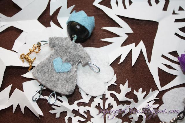ангел игрушка на елку