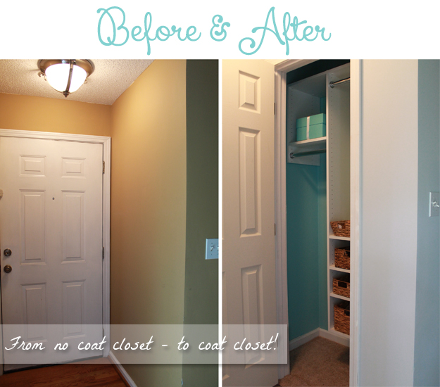Hi Friends   Iu0027m Here Today To Post About A Project That Has Taken Several  Weeks To Complete   Building A Coat Closet. Hereu0027s The Story: My New Condo  ...
