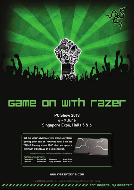 Razer Promotion Razer pc Show 2013 Promotion