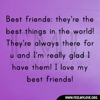Best friends: they're the best things in the world