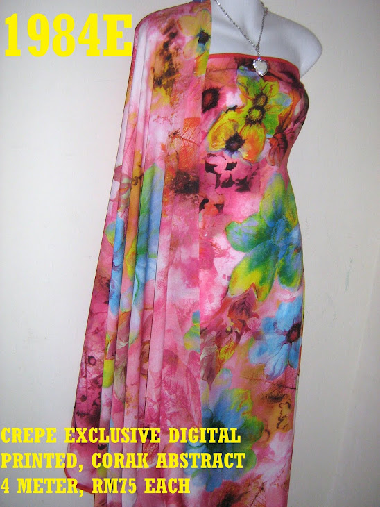 CP 1984E: CREPE EXCLUSIVE DIGITAL PRINTED, ABSTRACT, 4 METER