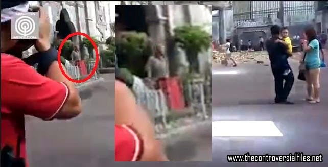 Jesus Caught On Cam After A Church Tower Bell in Philippines Collapsed