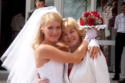 Прически дочери на свадьбу