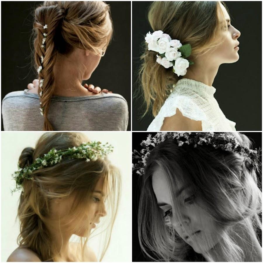 ¿Cómo conseguir un peinado romántico sin complicarte demasiado: mimo, mucho estilo y flores