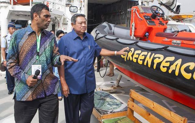 SBY : Rainbow Warrior Untuk Masa Depan Kita
