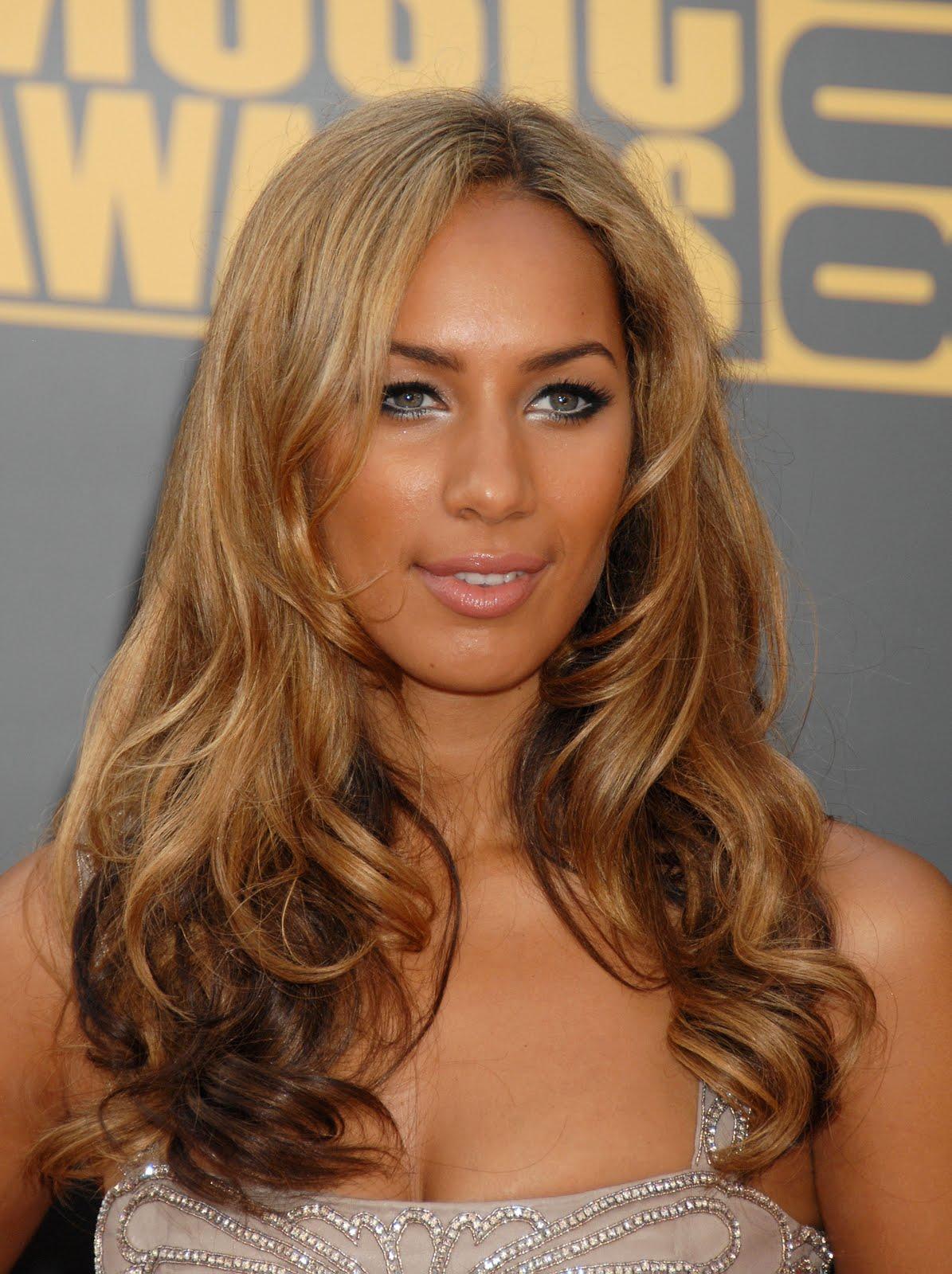 Leona Lewis Natural Hair Color 6k Pics