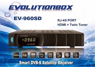 ATUALIZAÇÃO EVOLUTIONBOX EV960 SD V2.13 - 27.09.2014