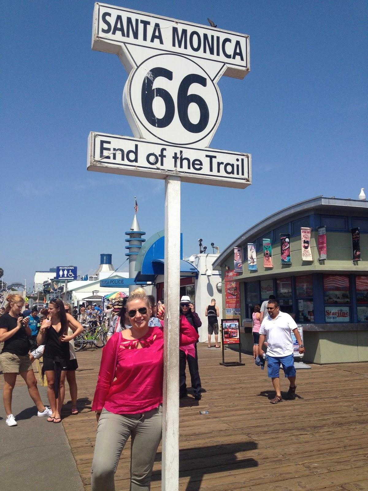 U S Of A Molo W Santa Monica Santa Monica Pier