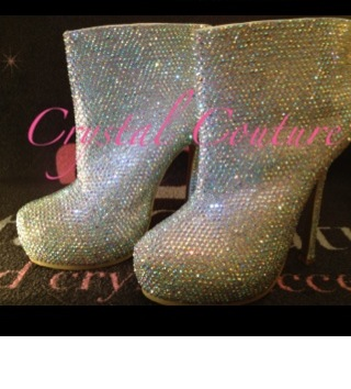 Wholesale Crystal Boots