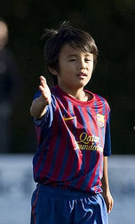 Takefusa Kubo es la nueva promesa del Barcelona