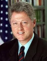 42nd United States President Bill Clinton