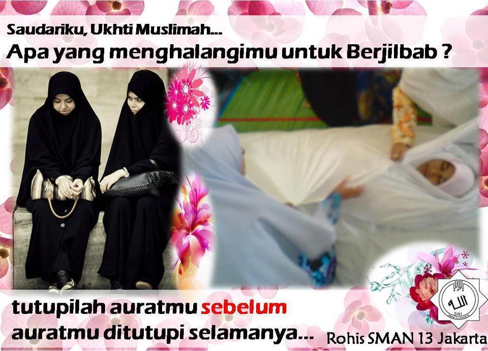MUSLIMAH di Luar Sana, Apa yg MenghalangiMU untuk MENUTUP AURAT.