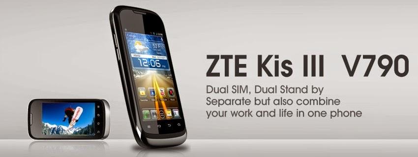 Harga spesifikasi ZTE Kiss 3