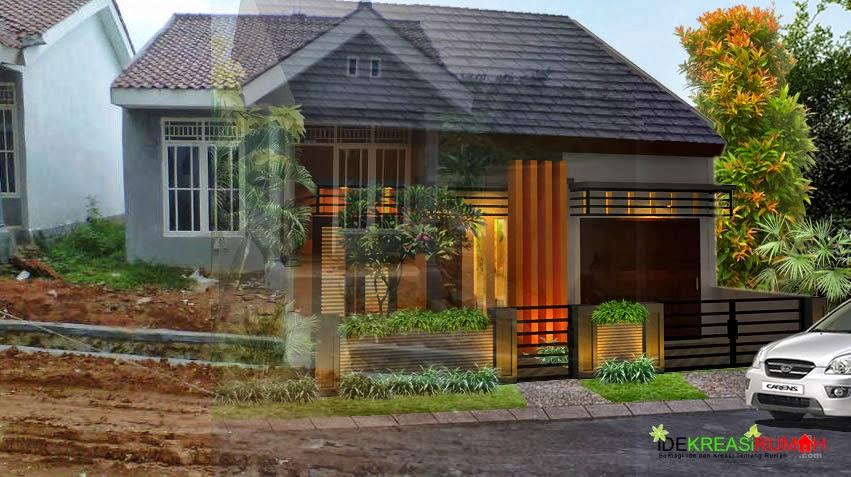 merubah fasad rumah menjadi modern minimalis ide kreasi
