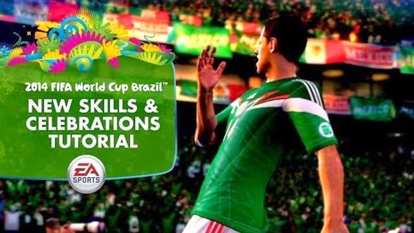 2014 FIFA World Cup Brazil - Skills & Celebrations Tutorial