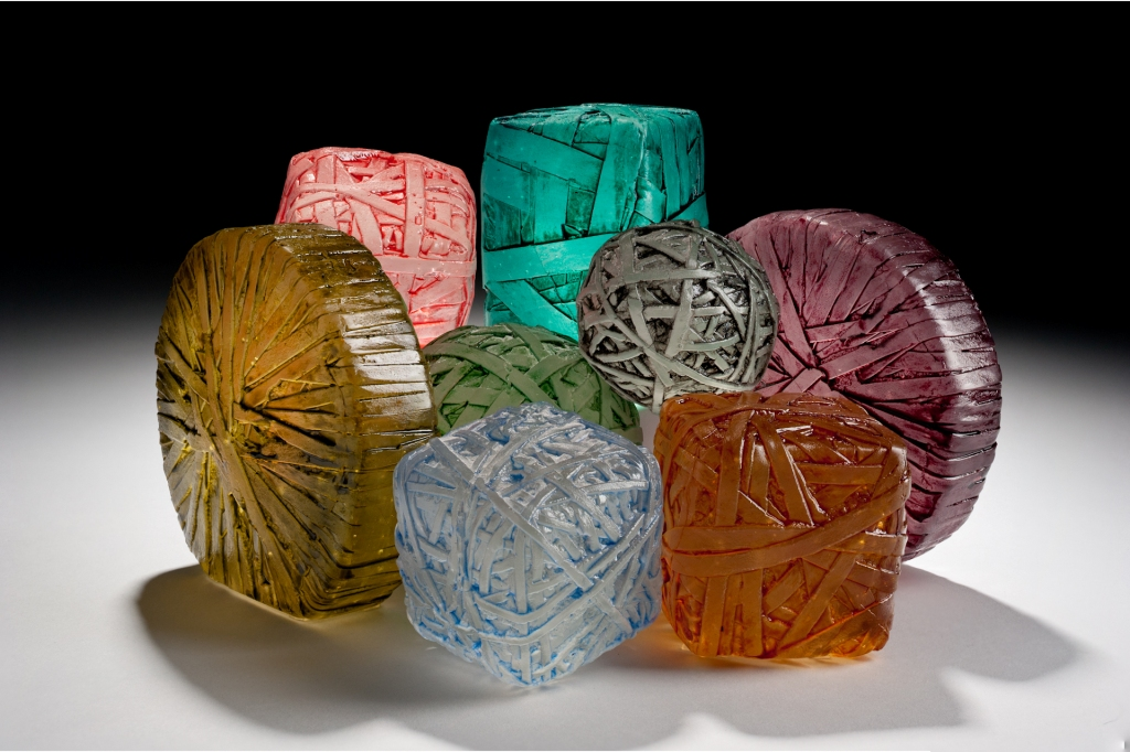 Washington glass school erwin timmers at brentwood arts for Recycled glass art
