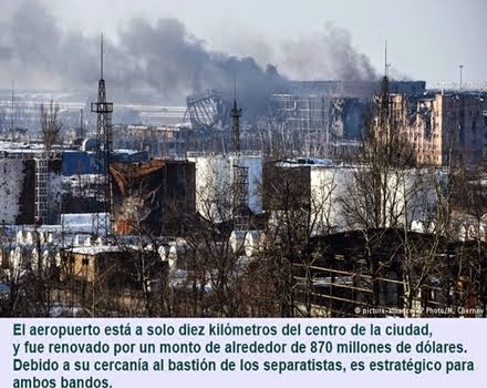 MUNDO: El aeropuerto de Donetsk, clave en el conflicto de Ucrania