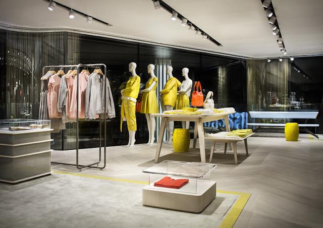 Green Pear Diaries, interiorismo, retail, flagship store, Modissa, Zurich, Matteo Thun and partners