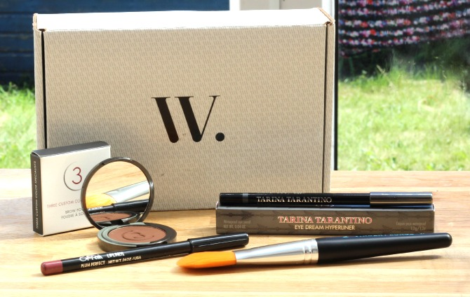 July 2014 Wantable makeup box