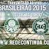 Coritiba x Palmeiras - Brasileirão - 12/08 - 19h30