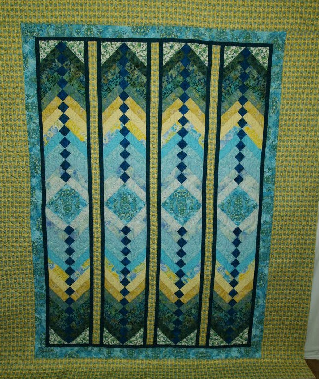 Jean Ruvel French Braid Quilt