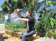 Anthony giving a talk about Urban Permaculture in Venice, California
