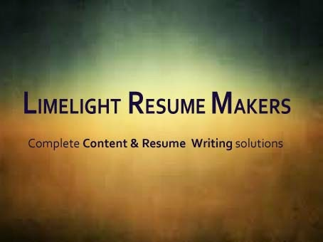 limelight resume makers professional resume writing service