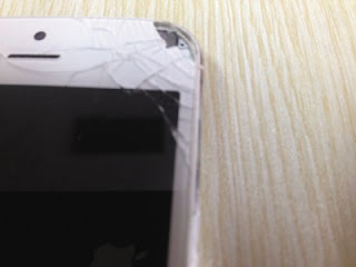 iPhone 5 exploded causing an eye injury in Chinese women