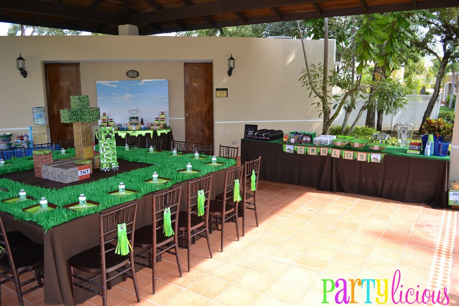 Minecraft Party Decorations Partylicious Minecraft Birthday Party