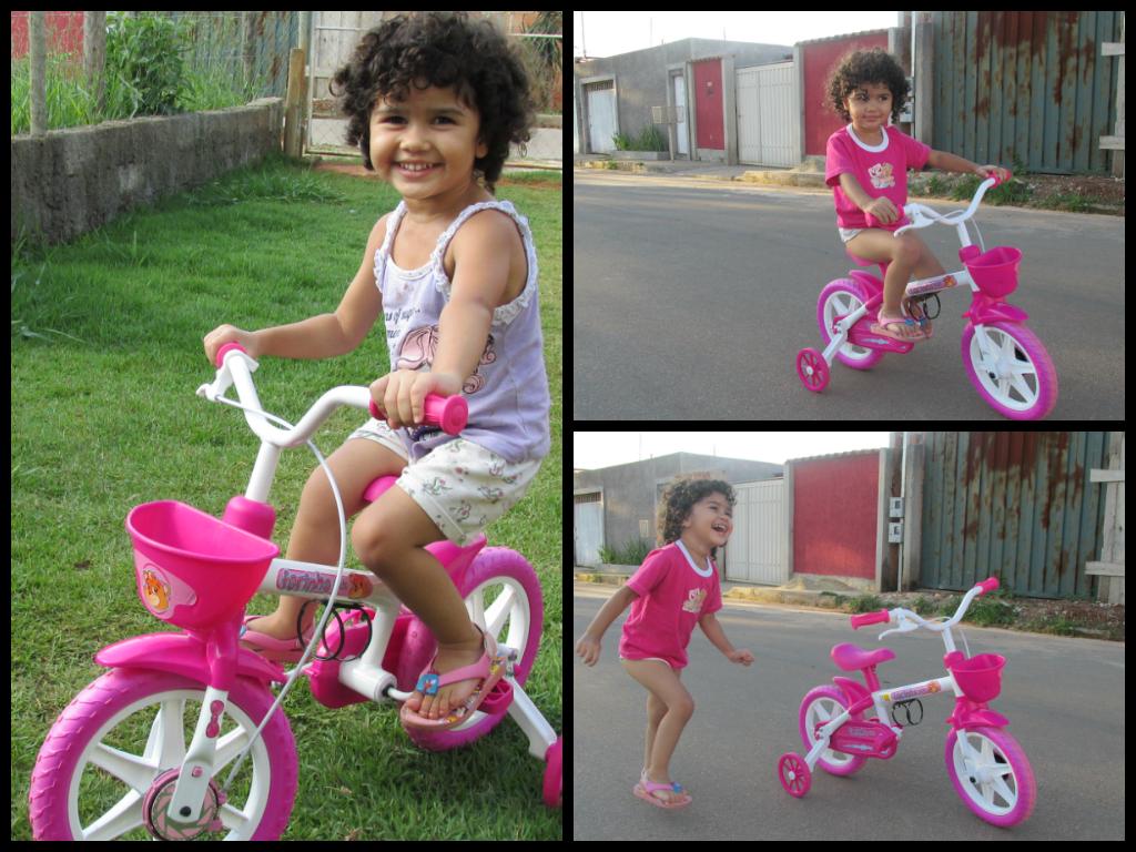 Bicicleta Infantil Presente para minha filha Jeito Simples de Ser #A52667 1024 768