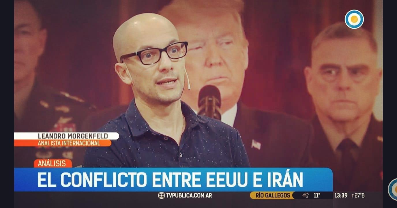 Leandro Morgenfeld: analista internacional