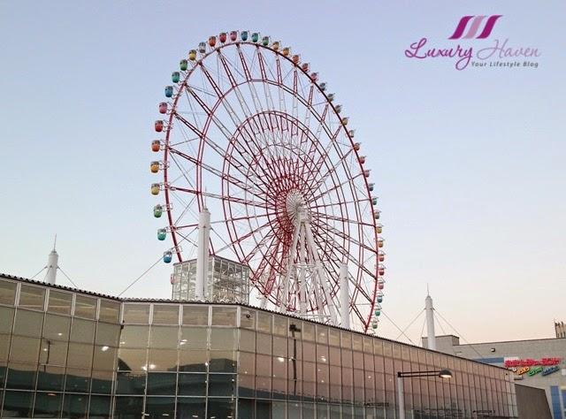 odaiba landmark ferris wheel of palette town