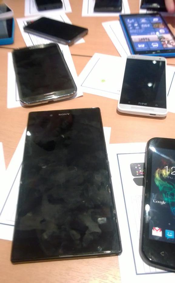 Sony Xperia ZU Leaked Image