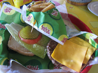 Florida Burger Lover Senor Frogs Burger With Cheese