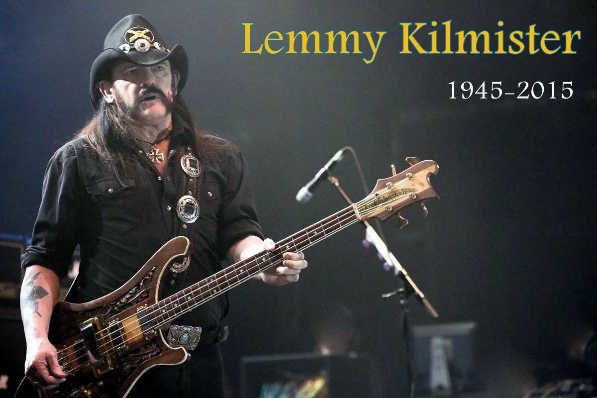 Obituario de Lemmy Kilmister, líder de Motorhead y uno de los padres del rock duro