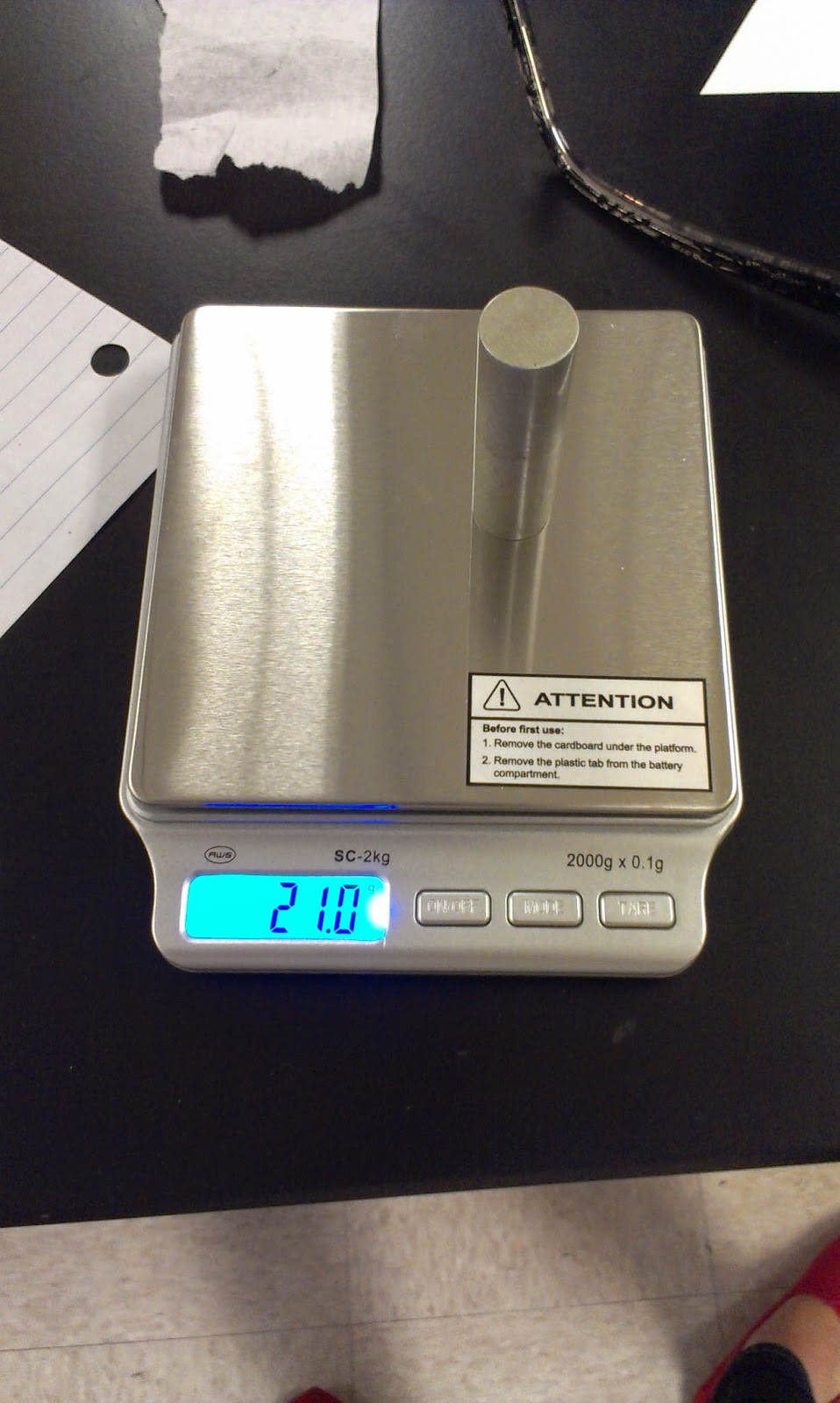 density of aluminum experiment This experiment illustrates several approaches to the calculate the density of the metal cylinder for each method of measuring volume and identify the.