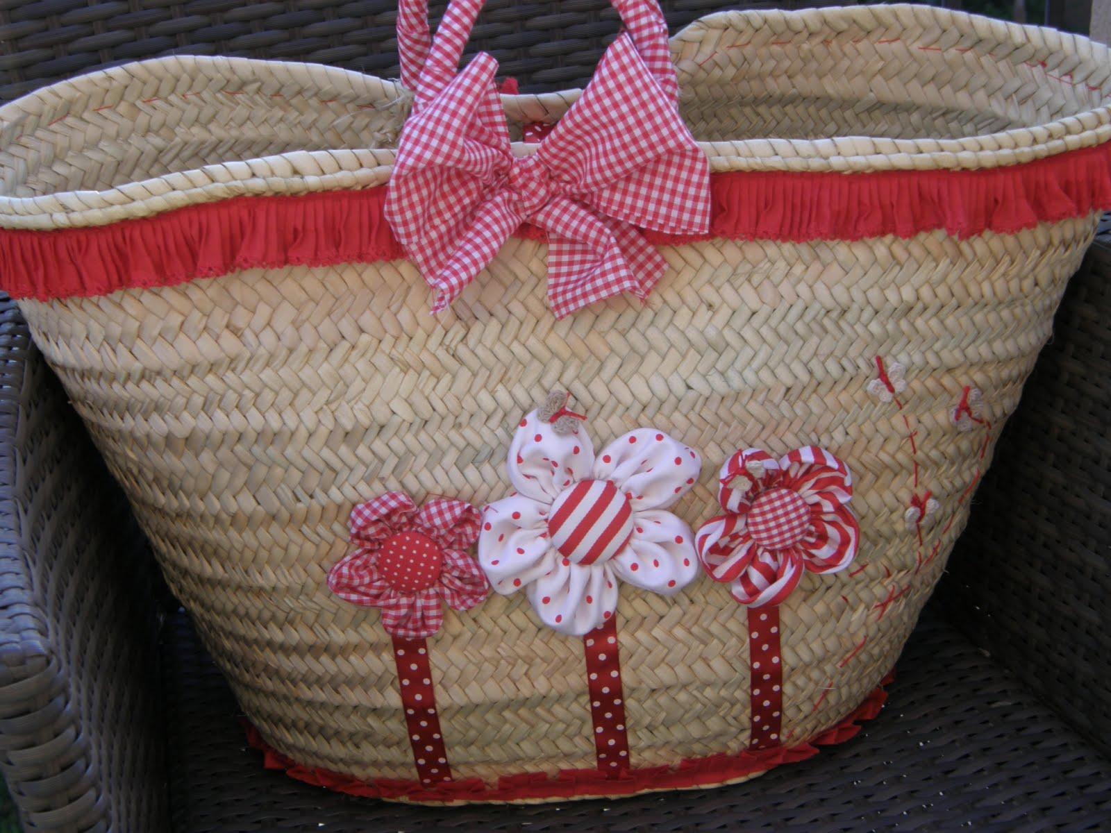 Maria enredos cestas de mimbre - Como forrar una cesta de mimbre ...